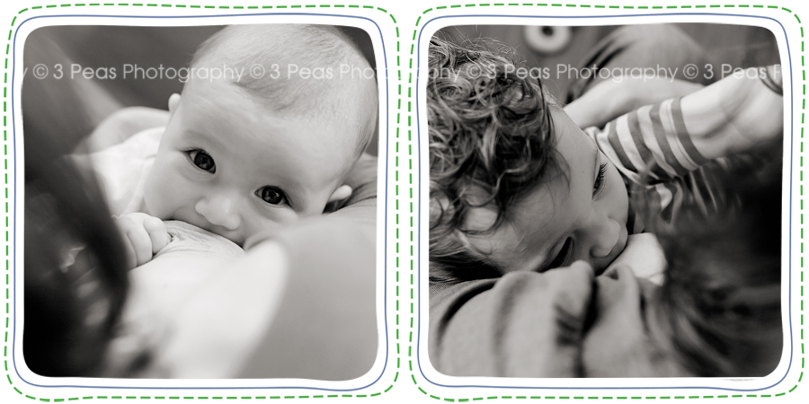 la leche league nursing portraits